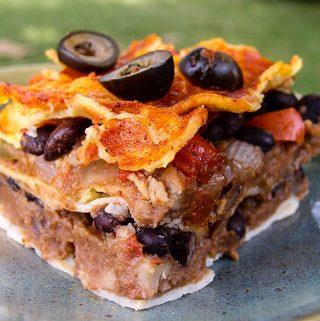 Mexican Lasagna or Enchilada Casserole