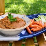 Roasted Tomato Bean Dip: A Garden Update and Recipe