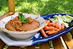 Thumbnail image for Roasted Tomato Bean Dip: A Garden Update and Recipe