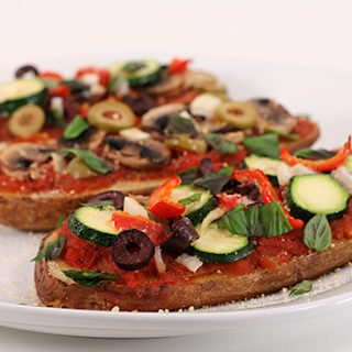 Potato Pizzas from FatFree Vegan Kitchen