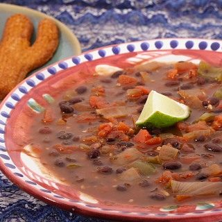 Stormy Black Bean Soup