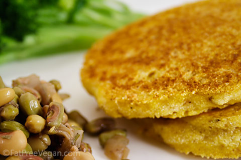 Hot Water Corn Cakes Recipe