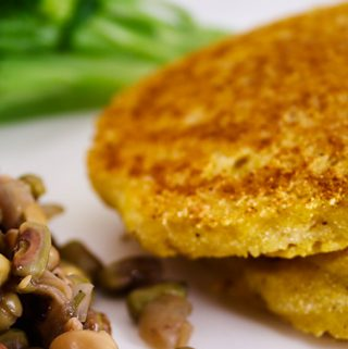 Easy Vegan Corn Cakes