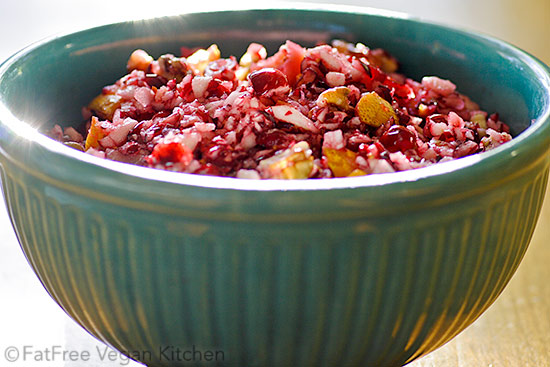 The Brown Family's Cranberry Relish with Apples, Oranges, and Pecans