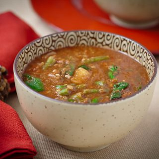 Ethiopian-Inspired Red Lentil Soup