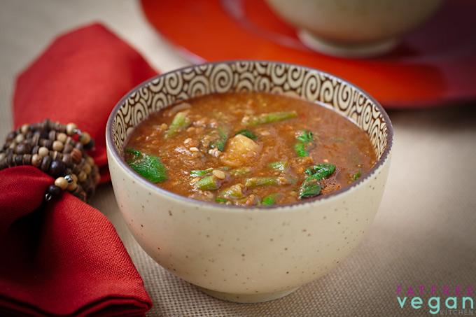 Ethiopian-Inspired Red Lentil Soup