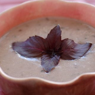 Purple Pesto Soup