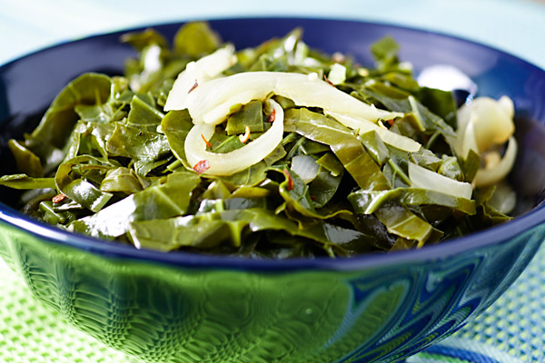 Quick and Delicious Collards in the Pressure Cooker or Instant Pot