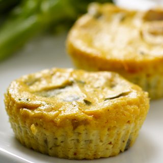 Mini Crustless Tofu Quiches
