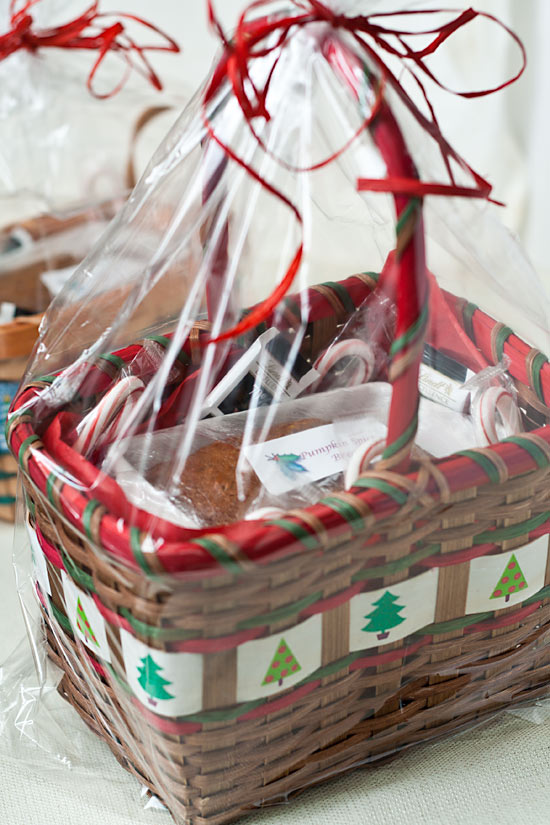 Pumpkin Spice Bread in Gift Basket