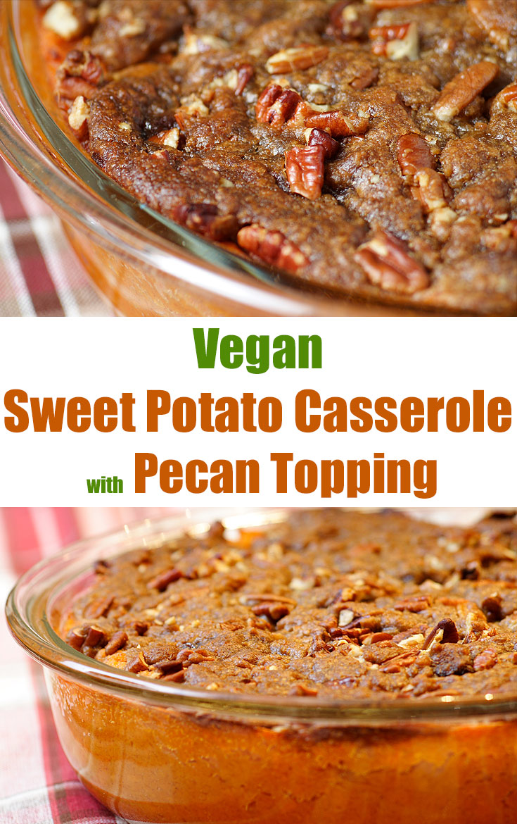 "Don't think side dish. This vegan ""casserole"" is a dessert! Recipe includes both regular and oil-free instructions."