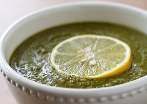 Green on Green Soup
