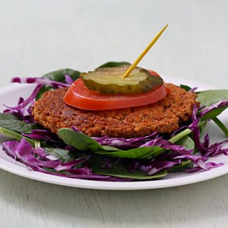 Red Bean-Chipotle Burgers