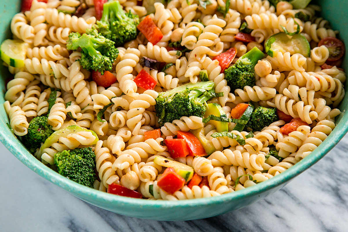 Pasta Salad Recipe Italian Dressing Zucchini