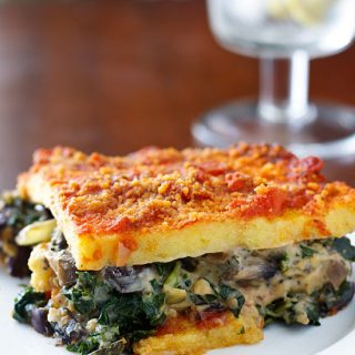 Casseroles archives fatfree vegan kitchen for Creamy polenta with mushrooms and collards