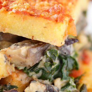Polenta Lasagna with Portabellas and Kale | Recipe from ...
