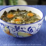 Collard Greens and White Bean Soup