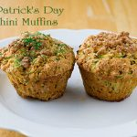 St. Patrick's Day Zucchini Muffins