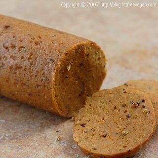 Veggeroni (Seitan Pepperoni)