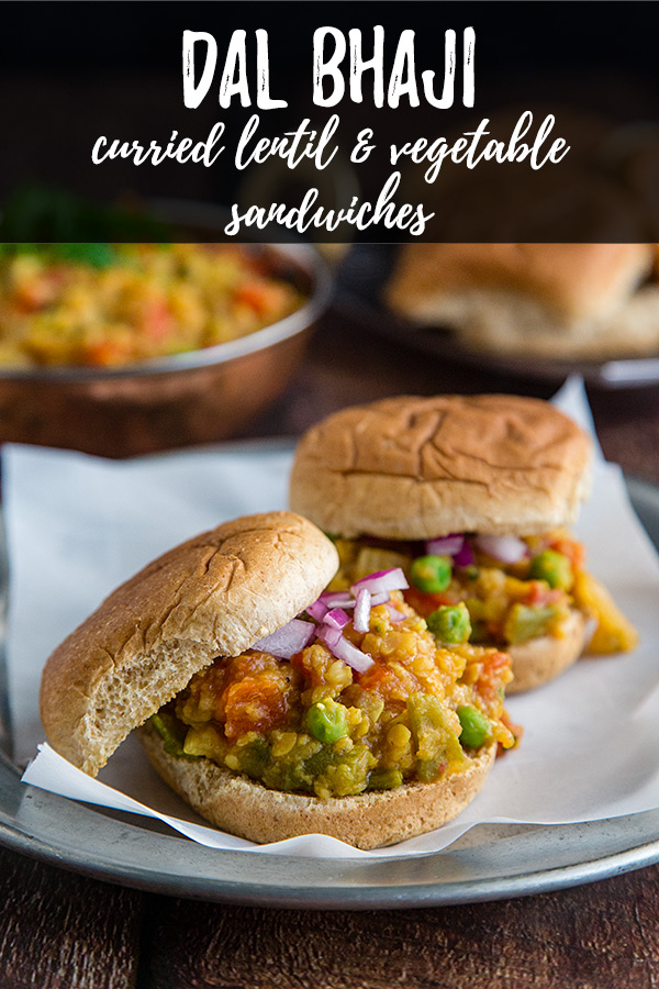 Dal Bhaji: These curried lentil and vegetable sandwiches are like Indian sloppy joes. Low-fat, vegan, and packed with flavor.