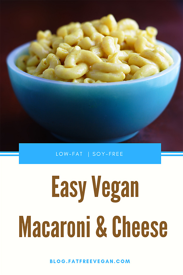 vegan mac and cheese recipe no soy