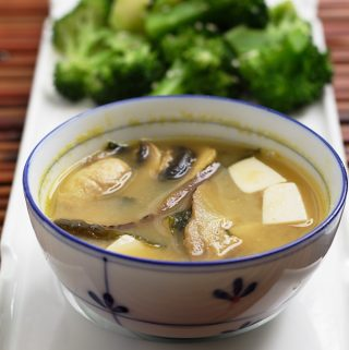 Double Mushroom Miso Soup