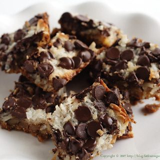 Vegan Magic Cookie Bars