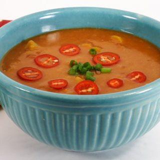 Southwestern Split-Pea Soup
