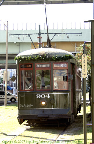 St. Charles Ave. Streetcar