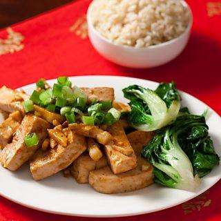 Sichuan Tofu and Garlic Sauce