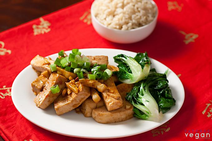 Sichuan or Szechuan Tofu and Garlic Sauce