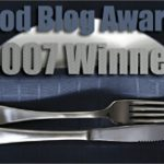 Food Blog Awards and Other News