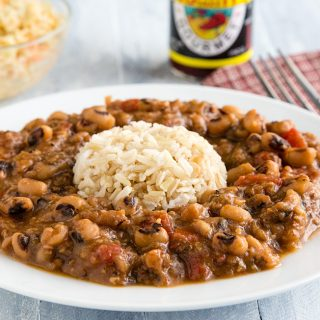 Creole Blackeyed Peas