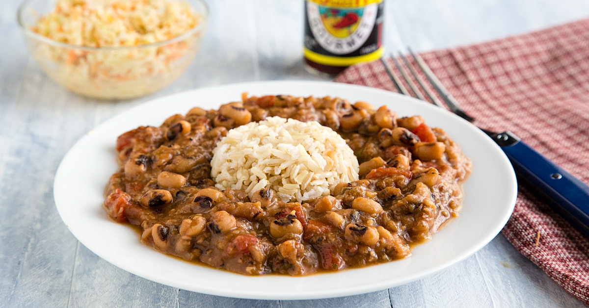 Creole black eyed peas recipe from fatfree vegan kitchen forumfinder Choice Image