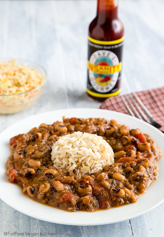 Creole black eyed peas recipe from fatfree vegan kitchen these creole black eyed peas are creamy spicy and delicious as forumfinder Choice Image