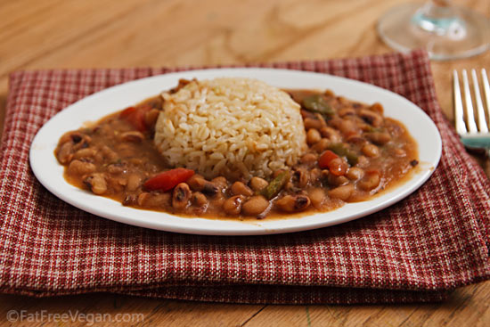 Creole Black Eyed Peas Recipe From Fatfree Vegan Kitchen