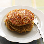 Golden Spice Pancakes