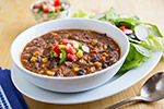 Smoky Refried Bean Soup