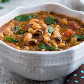 Collards and Black-eyed Peas Soup