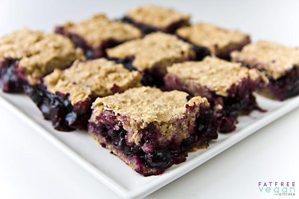 Blueberry-Oat Bars