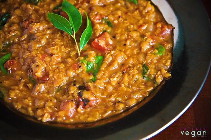 Red Lentil Soup with Vadouvan