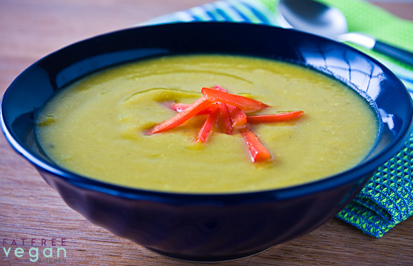 Sunny Summer Squash Soup