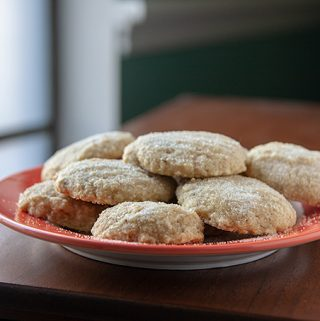 Okara or Tofu Coconut Cookies