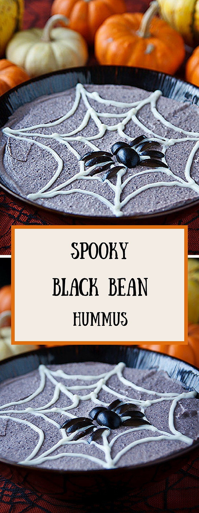 Halloween party foods don't have to be unhealthy! Give your hummus a spooky spin with this low-fat, vegan recipe.