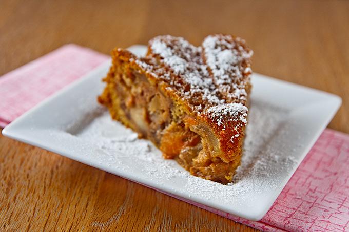 Persimmon-Apple Cake