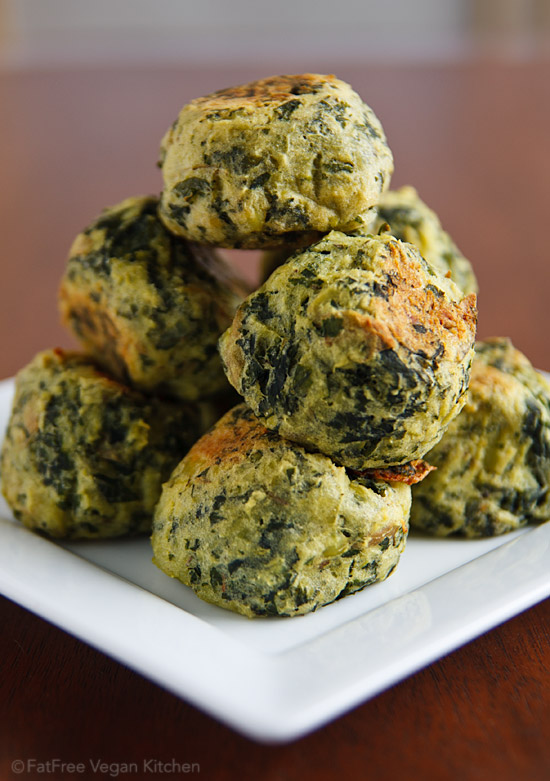 What happens when you bake vegan colcannon? You get deliciously seasoned puffs that are tender on the inside, lightly crispy on the outside. Perfect for vegan St. Patrick's Day.
