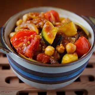 Tunisian Vegetable Ragout with Quinoa