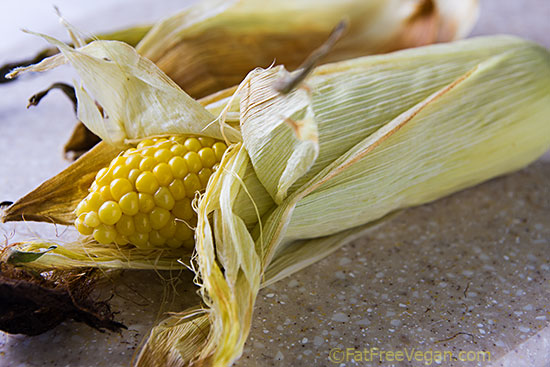 Oven Roasted Corn On The Cob Recipe From Fatfree Vegan Kitchen