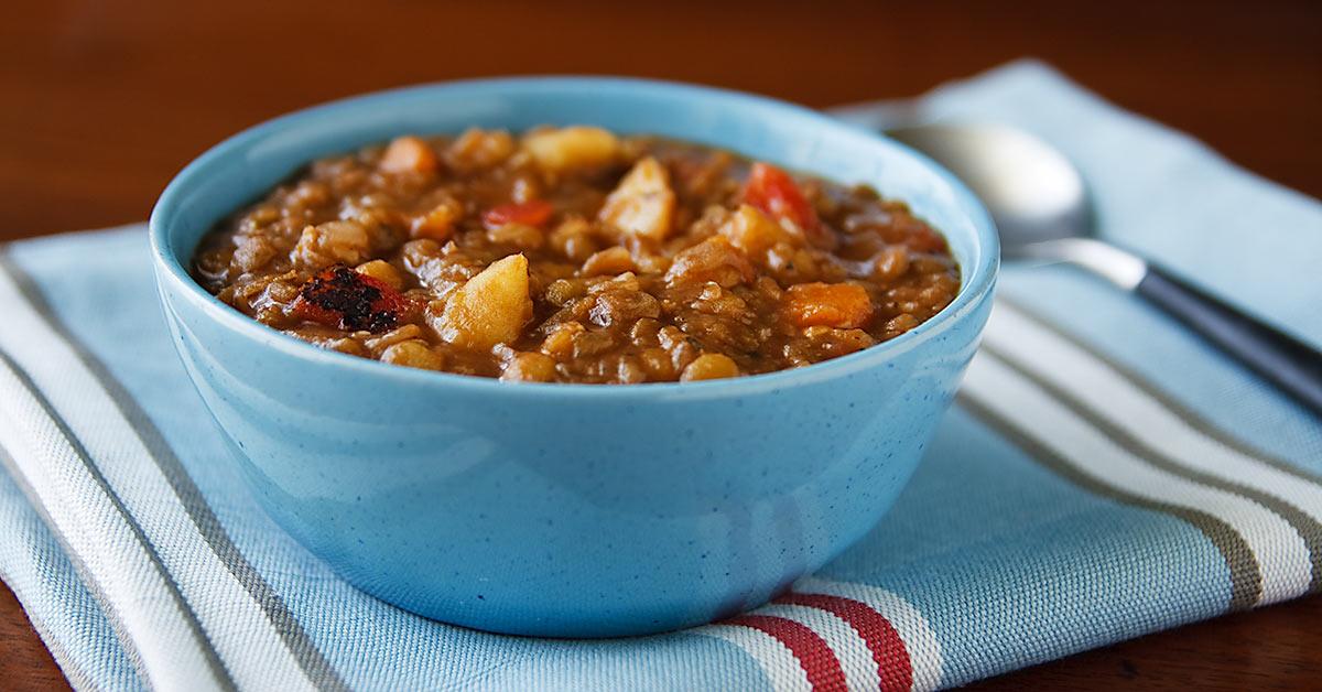 Ridiculously Easy Lentil Soup Fatfree Vegan Kitchen