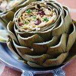Millet-Stuffed Artichokes